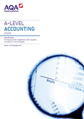 AQA Accounting AS/A Level Specification