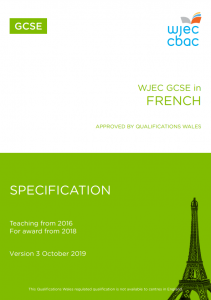 GCSE French Specification