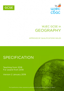 GCSE Geography Specification