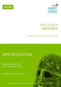 GCSE History Specification