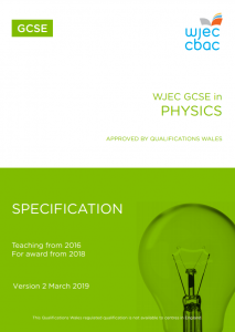 GCSE Physics Specification