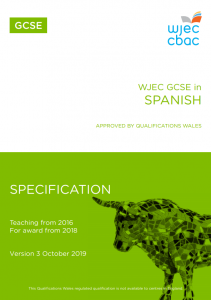 GCSE Spanish Specification