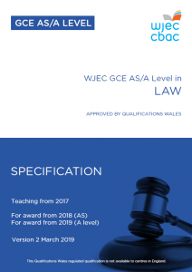 AS/A Level Law Specification