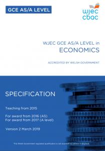AS/A Level Economics Specification