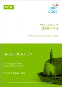 GCSE German Specification