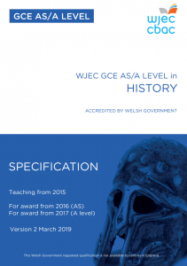 AS/A Level History Specification