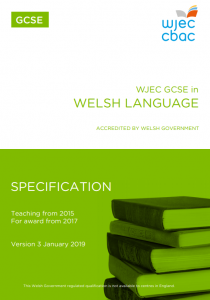 GCSE Welsh Language Specification