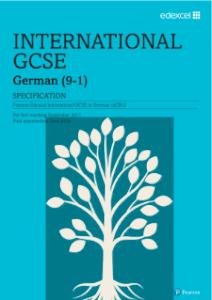 Pearson Edexcel German Specification