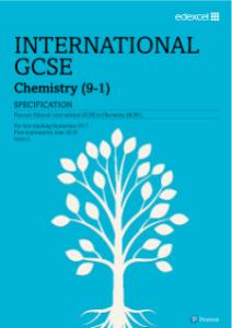 Pearspn Edexcel IGCSE Chemistry