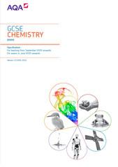 AQA GCSE Chemistry spec