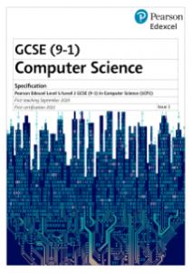 Pearson Edexcel GCSE Computer Science