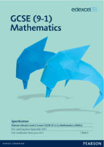 Pearson Edexcel GCSE Mathematics Spec