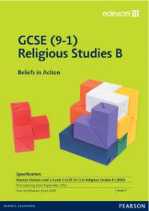 Pearson Edexcel GCSE Religious Studies B Spec