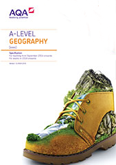 AQA A Level Geography Spec