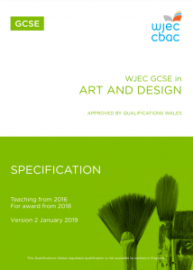 GCSE Specification Art and Design